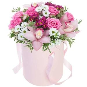 Розовая композиция